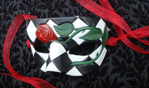 Romantic Rose Mask Two by merimask