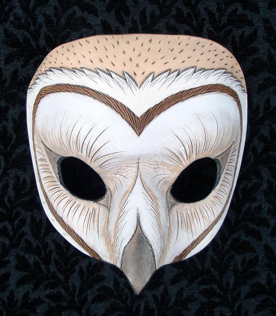 Barn Owl Mask 2010 by merimask