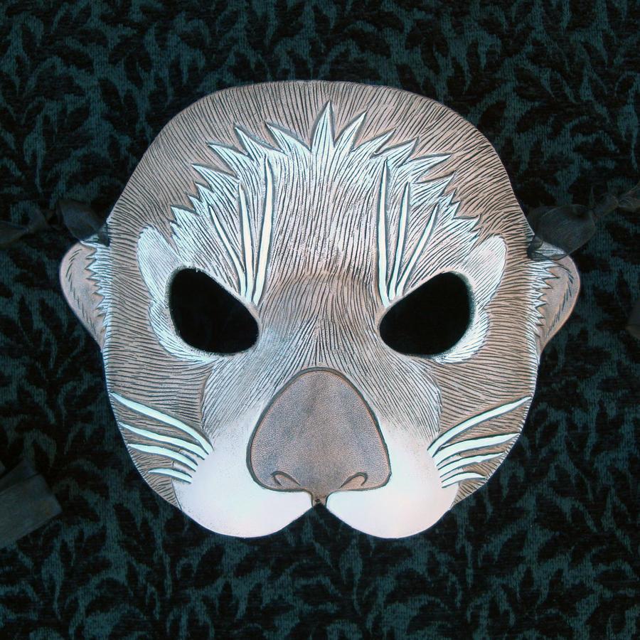 Sea Otter Mask by merimask