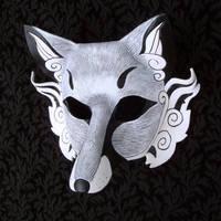 Inari Leather Mask by merimask