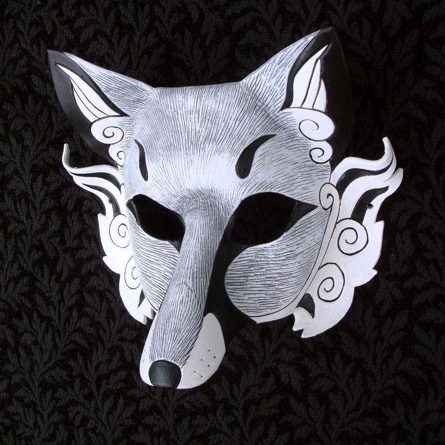 Inari Leather Mask by merimask