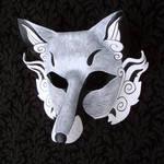 Inari Leather Mask