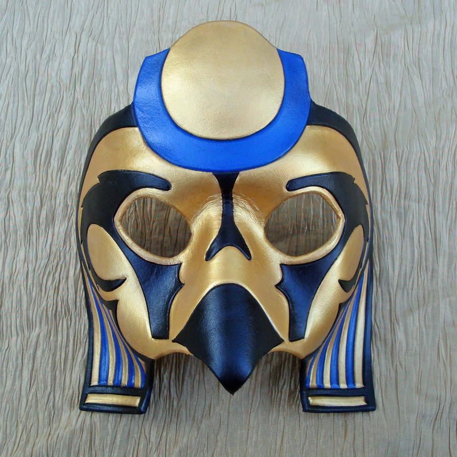 Ra Falcon Mask by merimask