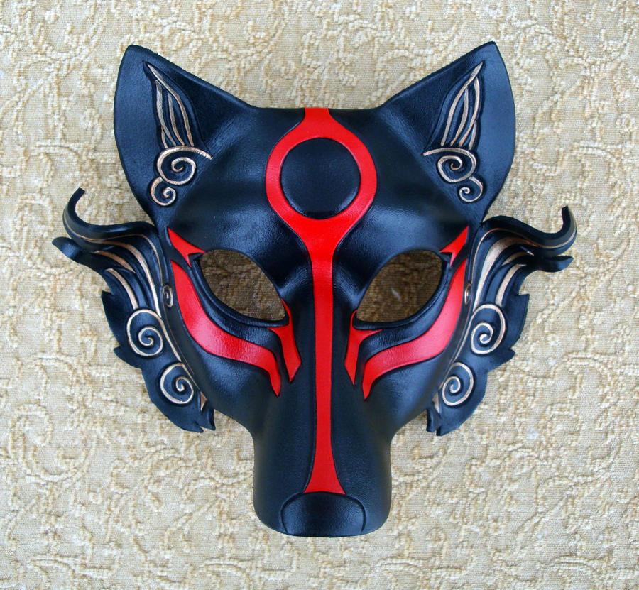 ผลการค้นหารูปภาพสำหรับ black okami mask