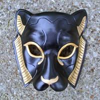 Black Sekmeht Mask by merimask