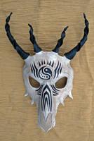 Tribal Dragon Skull Mask no. 1 by merimask