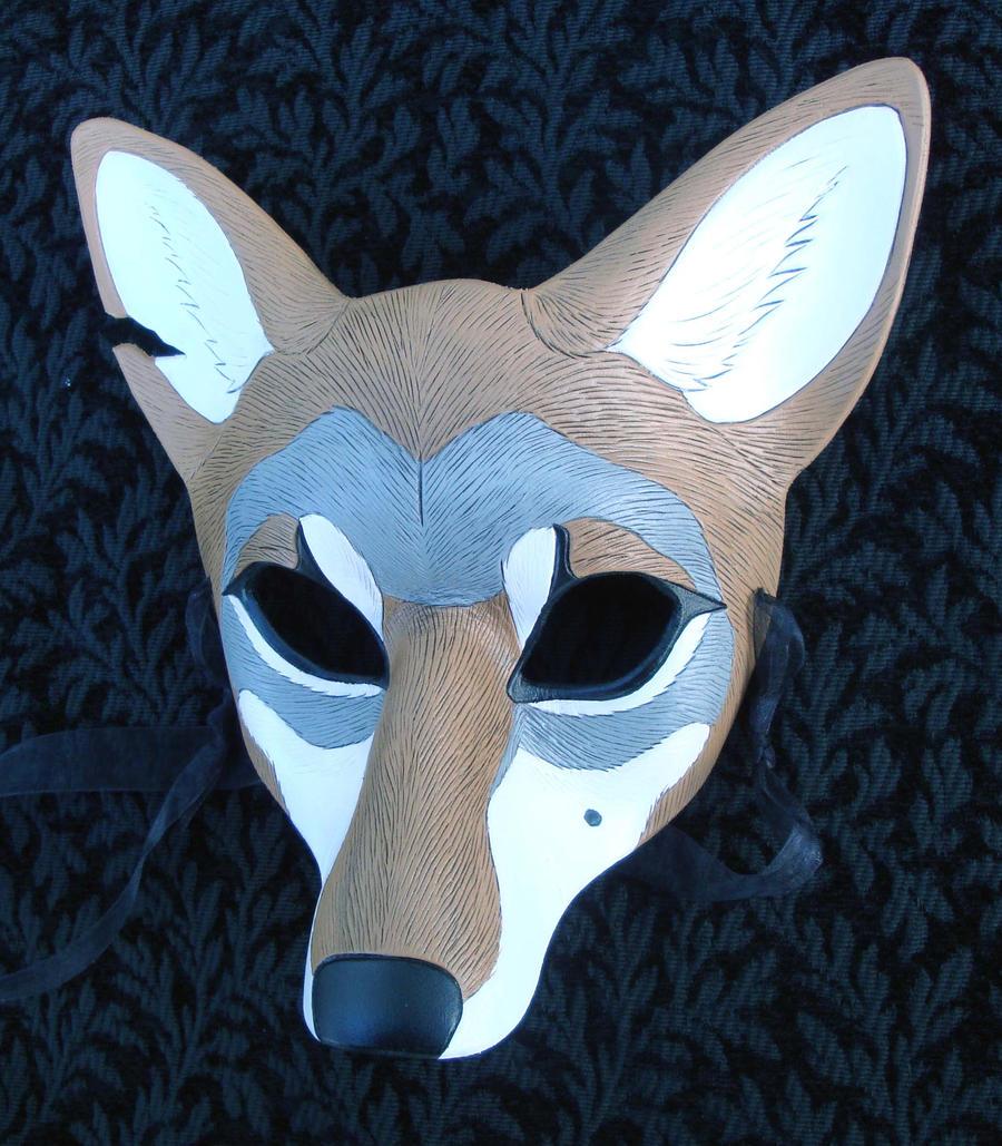 Custom Coyote Mask by merimask
