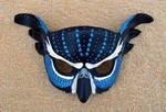 Blue Fantasy Owl Mask