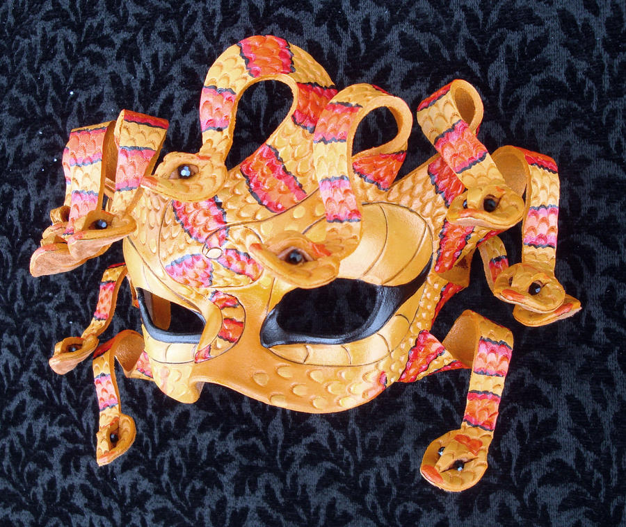 King Snake Medusa By Merimask On DeviantArt