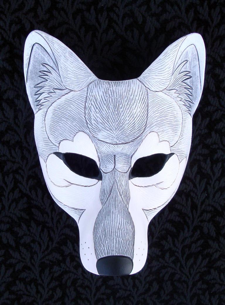 Маска волка из бумаги своими руками Как сделать