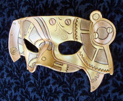 FullSteam Leather Mask 2011 by merimask