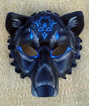 Custom Black Wolf Mask