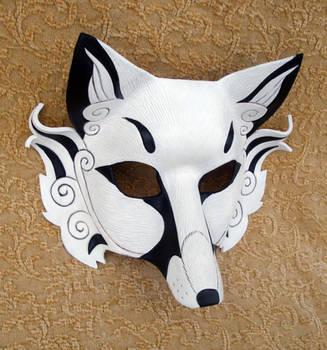 White Inari Mask 2011 by merimask