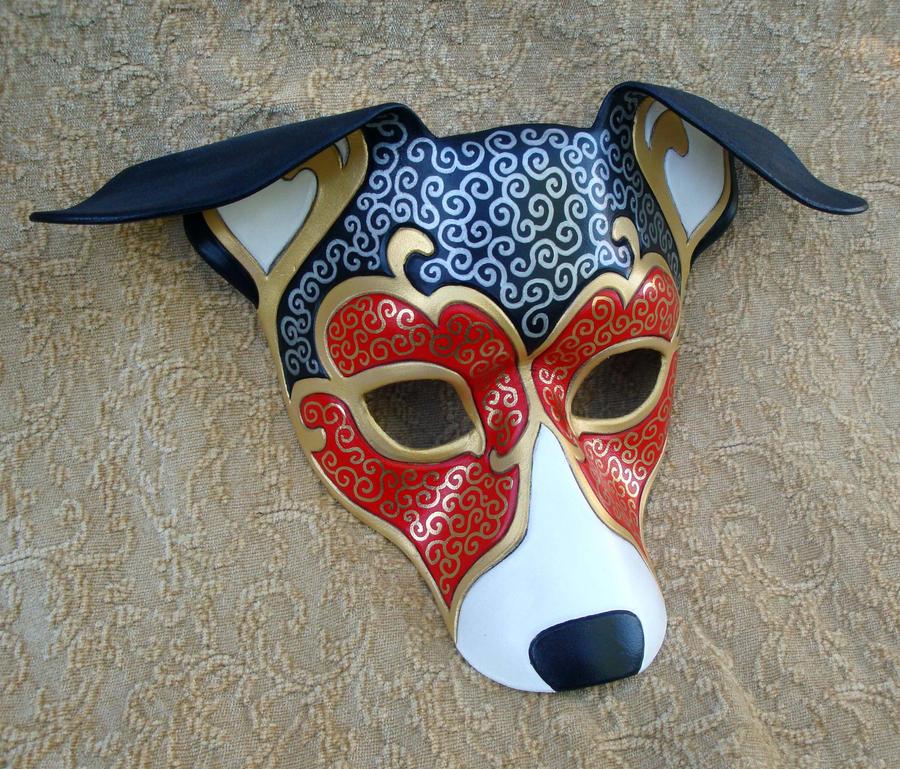Venetian Hound Mask by merimask
