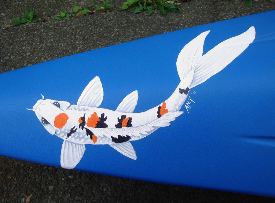 Kayak Koi by merimask
