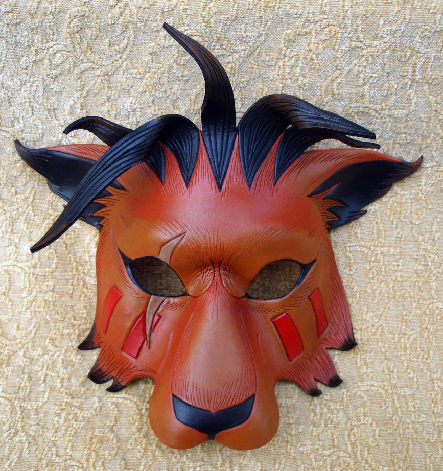 Red XIII Mask by merimask