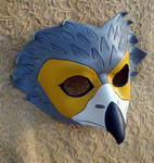 African Harrier Leather Mask
