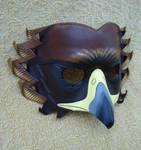 Golden Eagle Leather Mask