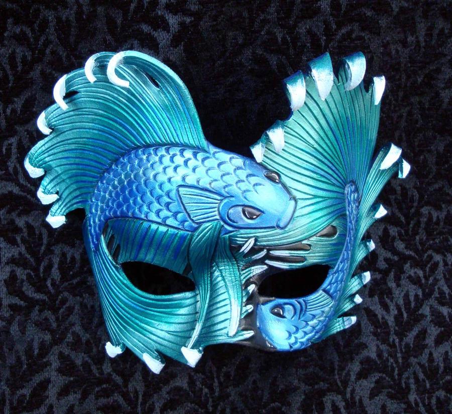 Aequeor Tranquillium Mask by merimask