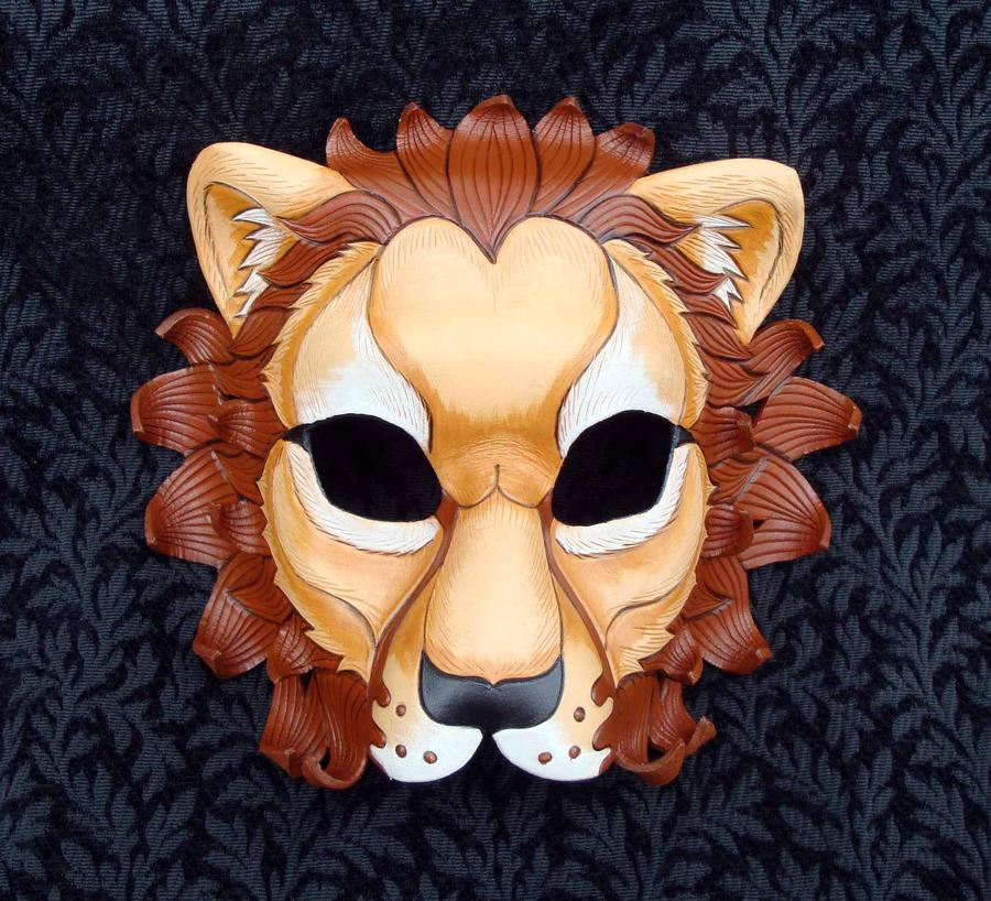 African Lion Masks
