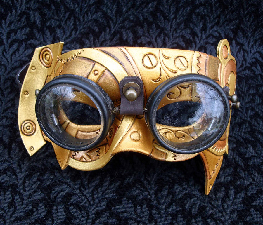 Fullsteam Vintage Goggle Mask by merimask