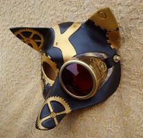 CogMonocle SteamFox mask by merimask