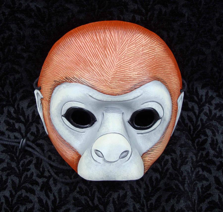 Monkey Mask by merimask