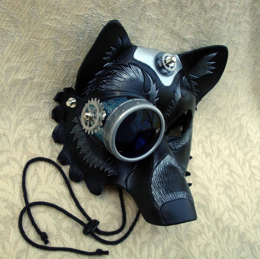Japanese wolf mask - photo#25
