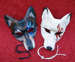 Tattoo Wolf Leather Masks