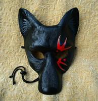 Tattoo Wolf Mask V3 by merimask