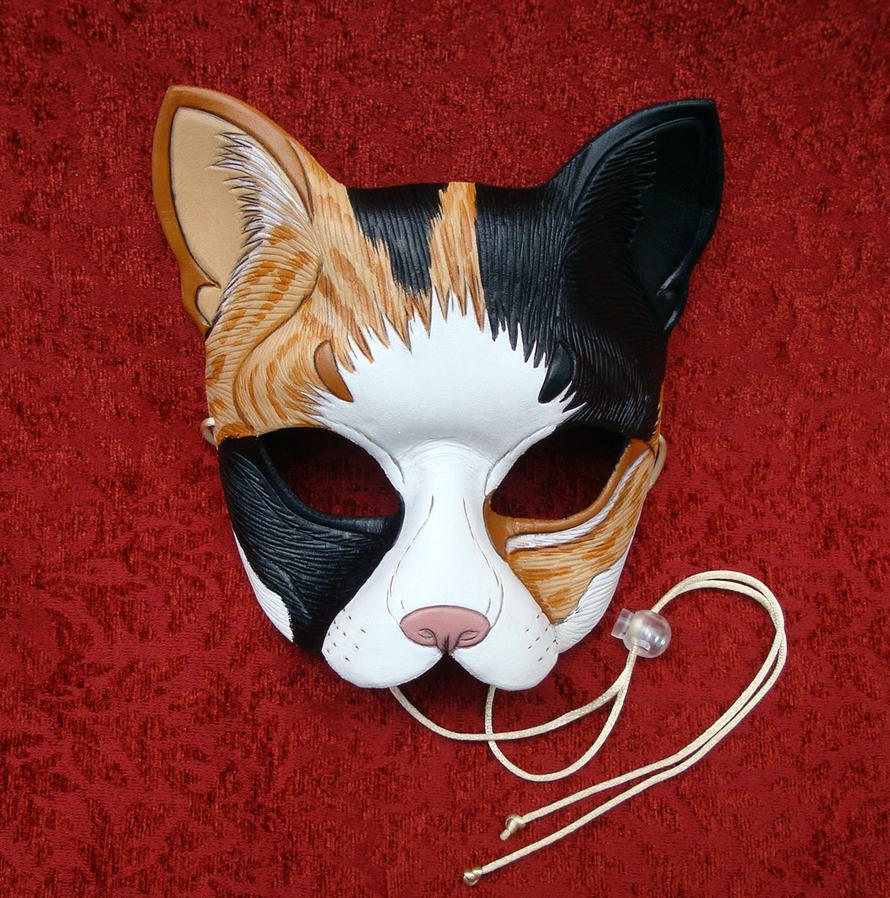 Calico Cat Mask 2012 by merimask