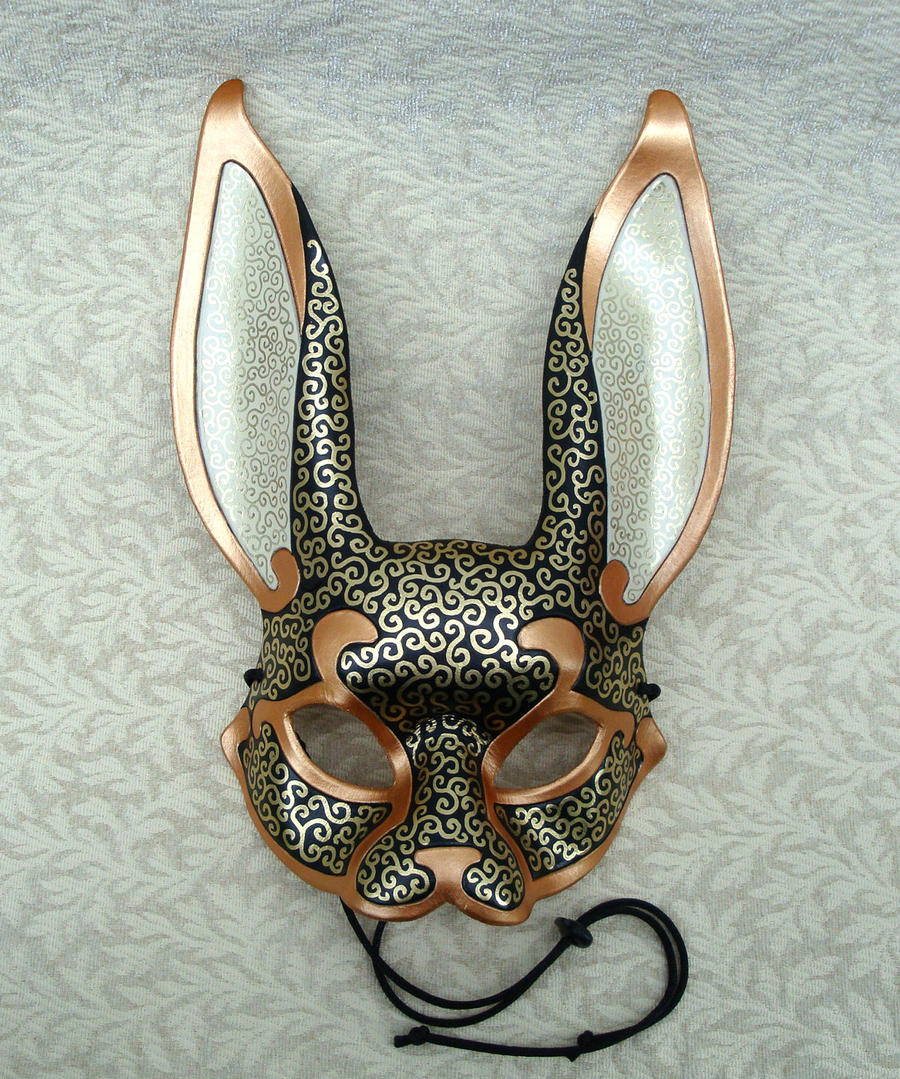 Venetian Rabbit Mask V5 by merimask