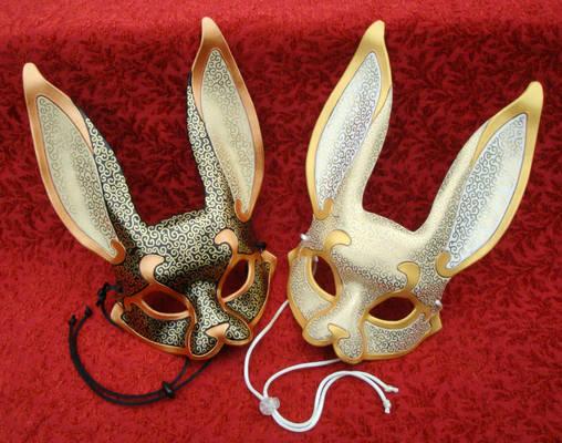 Venetian Rabbit Masks
