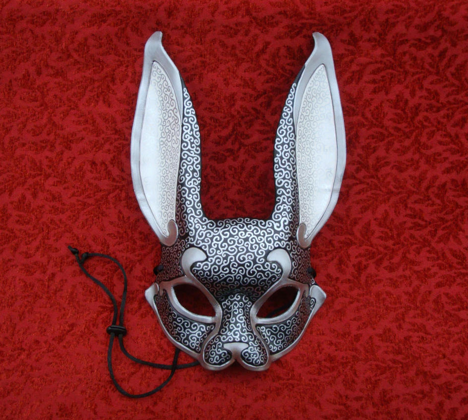 Venetian Rabbit Mask v14 by merimask