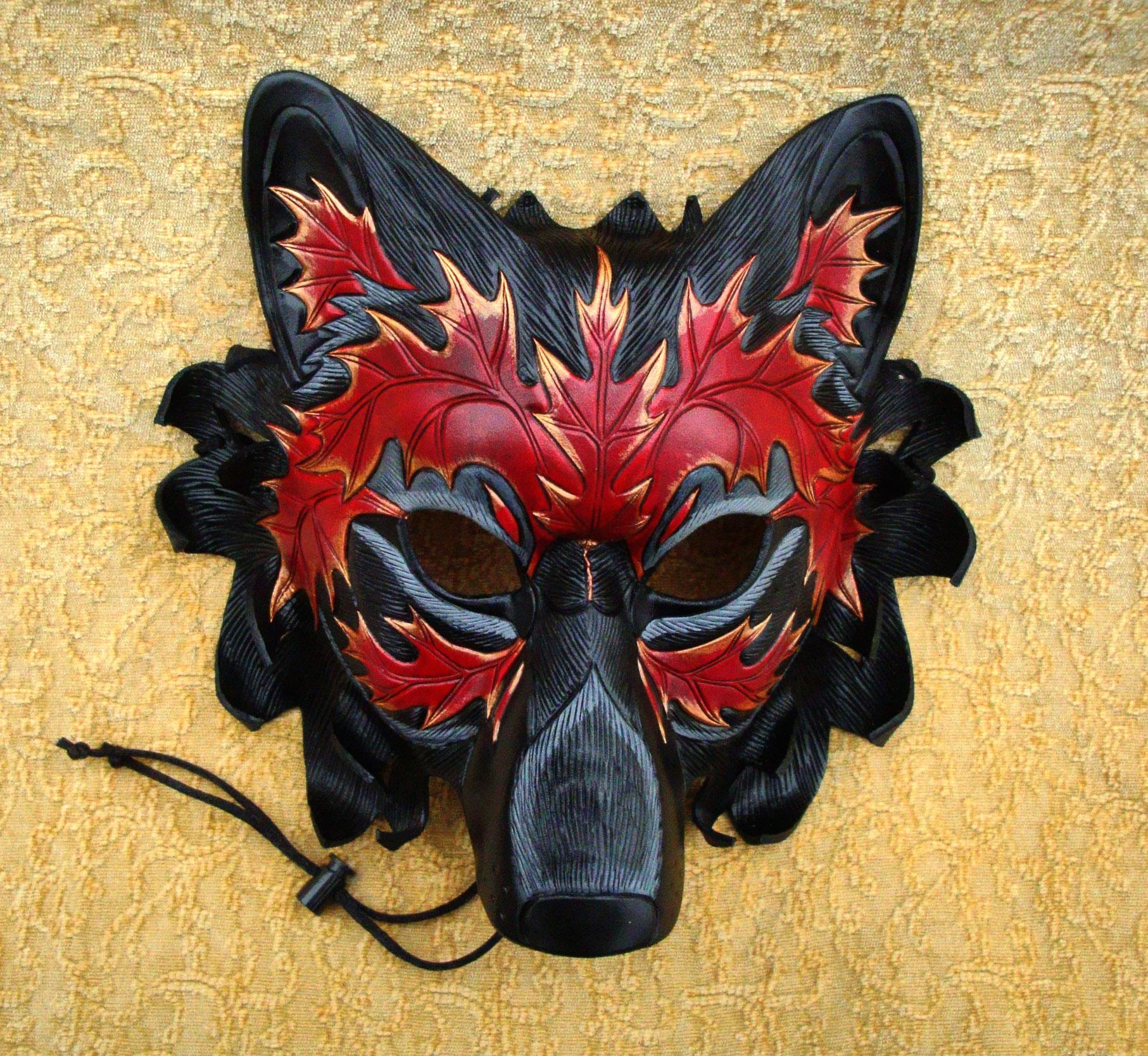 Autumn Leaf Wolf V6 by merimask