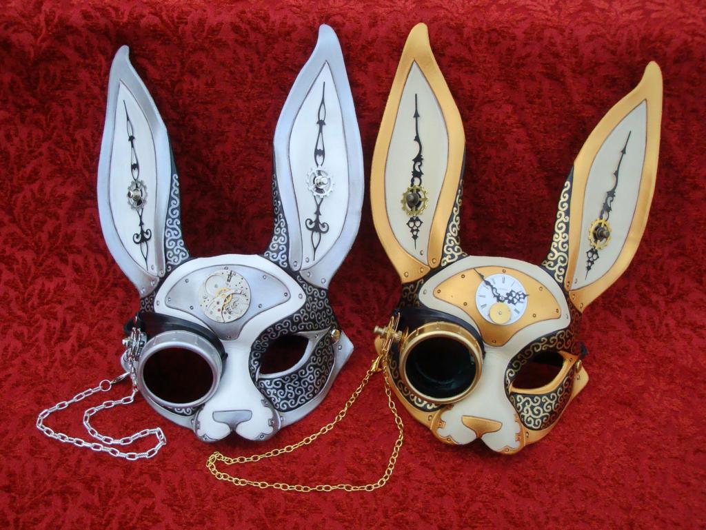 Gentleman Bunnies by merimask