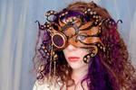 Dari Wearing Steamy Tentacles Mask1
