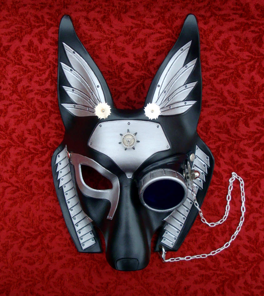Industrial Anubis Mask V43 with monocle by merimask