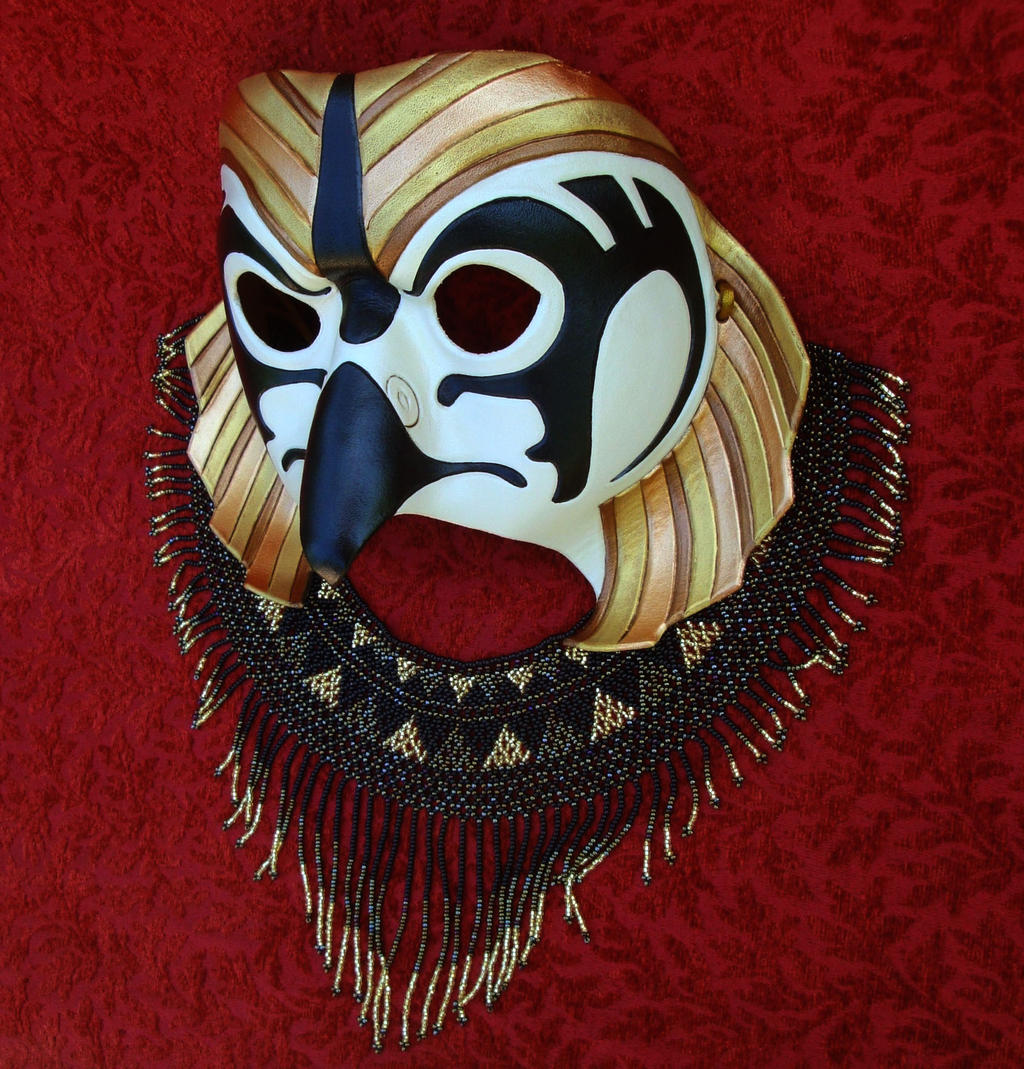New Traditional Horus Mask #1 by merimask