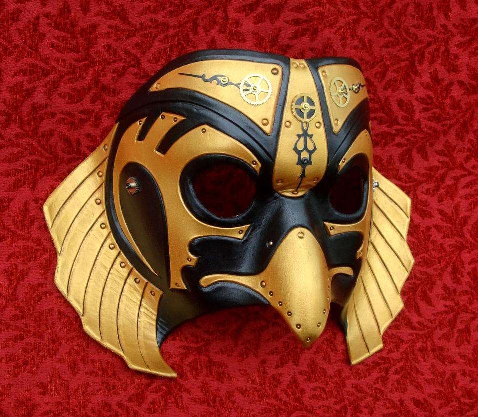 Industrial Horus Mask by merimask