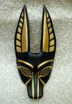 Anubis mask for opera