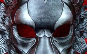 Black Lion Leather Mask
