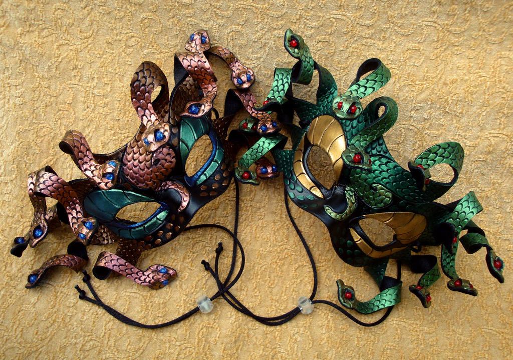 Medusa Masks by merimask