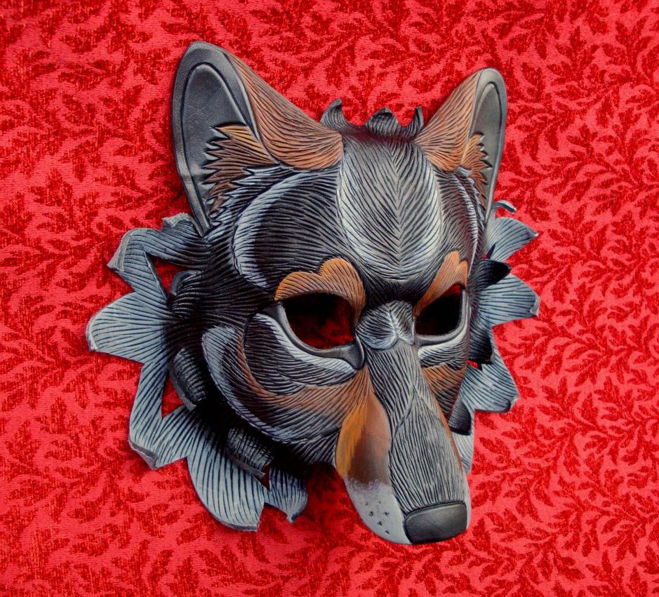Custom Iberian Wolf by merimask