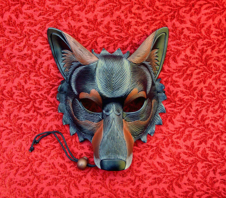 Iberian Wolf Mask by merimask