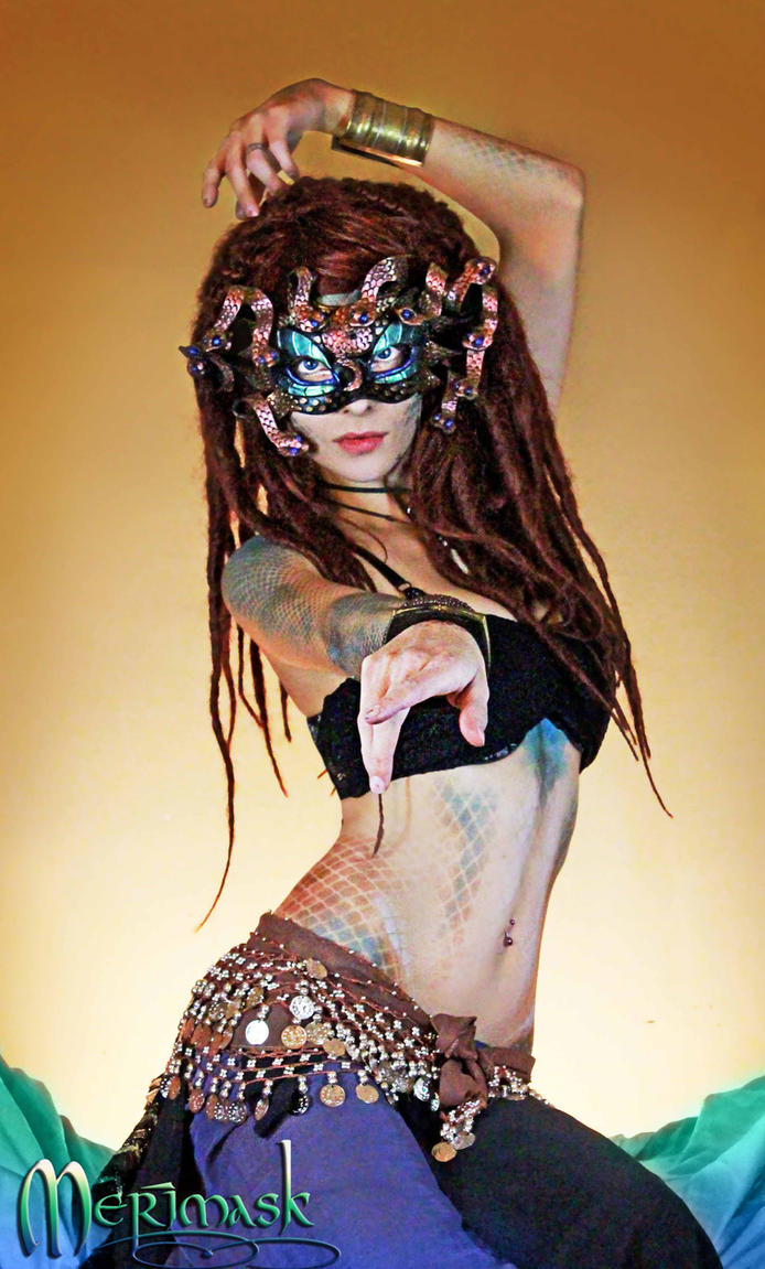 Beki as Medusa by merimask