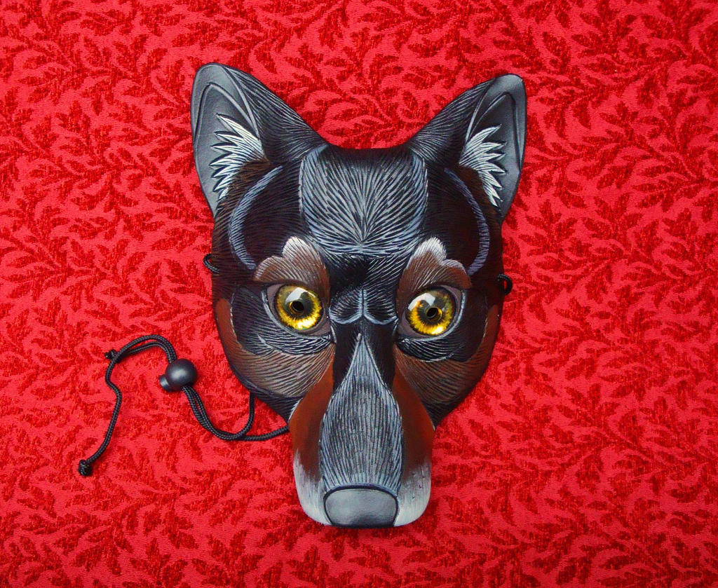 Real Eyes Wolf Mask by merimask