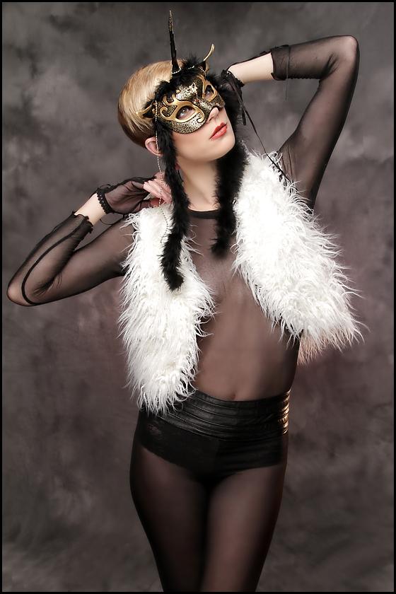 Black Unicorn Fashion Shoot by merimask