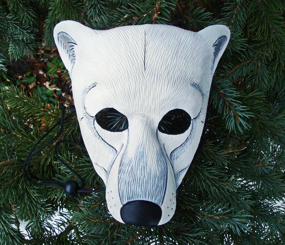 Polar Bear Mask by merimask