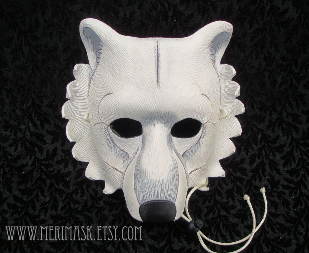 Large Polar Bear Mask by merimask
